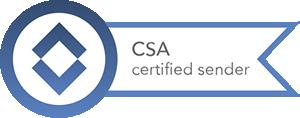 Certified Sendes Alliance - Zertifiziert seit 14. März 2008